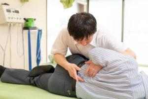 腰椎の強制